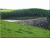 SJ9775 : Dam at Lamaload Reservoir by Phil Eptlett