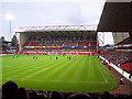 SK5838 : City Ground, Nottingham by Garth Newton