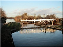 ST9161 : On the Kennet and Avon Canal between Seend and Semington by Rog Frost
