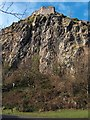 NS4074 : Dumbarton Rock & Castle by Andrew McEwan