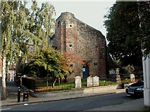 TL9925 : St.Martin's church, West Stockwell St., Colchester by Robert Edwards