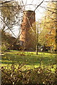 SK8974 : Old Mill at Broadholme Road Saxilby by Dennis Prangnell