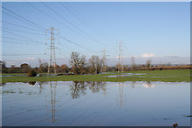 ST0209 : Willand: overhead transmission lines by Martin Bodman