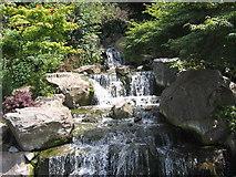 TQ2479 : Fountain in the Kyoto Garden, Holland Park, Kensington by John Goodall