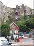 TQ8209 : Funicular Railway, Hastings, East Sussex by John Goodall