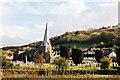 SS6230 : Swimbridge: church and village by Martin Bodman