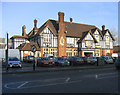 TQ7388 : The Railway Public House, Pitsea by John Winfield