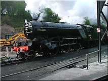 NZ8204 : Green Arrow, Grosmont Sheds by Mick Garratt