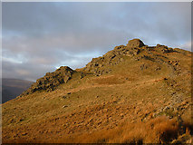 NY3507 : Lord Crag, Fairfield Horseshoe by michael ely