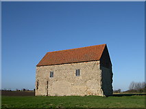 TM0308 : St. Peters on the Wall (Saxon chapel), Bradwell-on-Sea. by corinne mills