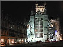 ST7564 : Bath Abbey by Phil Williams