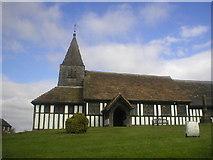 SJ8567 : Church at Marton by Richard Slessor