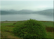 NS0531 : Lamlash Bay from the north of Holy Island by Nigel Homer
