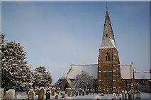 SK8770 : All Saints' church by Richard Croft