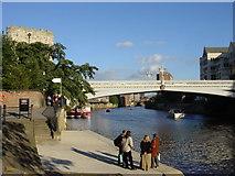 SE5952 : Lendal bridge over the River Ouse, York by Sue Adair