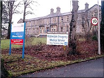 SD7543 : Clitheroe Hospital by Mike and Kirsty Grundy