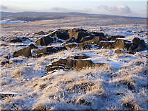 SE0030 : Rocks at High Brown Knoll by Phil Champion