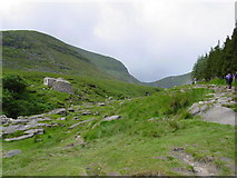 J3629 : Setting out to climb Slieve Donard by Colin Park