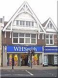 TQ1649 : W.H Smith, 101 High Street, Dorking RH4 1AL...looking North West by Rib