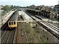 SK4192 : Railway Station (former), Rotherham Masborough by Dave Hitchborne