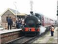 TF3096 : Railway Station, Ludborough by Dave Hitchborne
