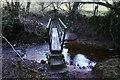 NY0606 : Footbridge over Scargreen Beck by Bob Jenkins
