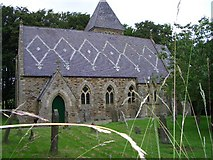 NY9449 : St James Church, Hunstanworth by Les Hull