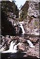 NN9879 : Falls of Tarf. by Peter Ward