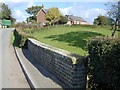 SJ4769 : Broomhill Orchard Farm from bridge over Salters Brook by Stephen Charles