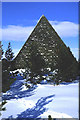 NO2593 : Prince Albert's Cairn. by Peter Ward