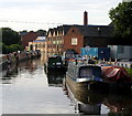 SJ8933 : The Trent and Mersey Canal at Stone by Andy Beecroft
