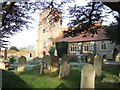 SU9072 : Graveyard at St Mary's Church by Martyn Davies
