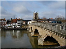 SU7682 : The Bridge over the Thames at Henley on Thames by Nigel Homer
