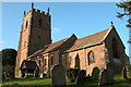 SO7867 : Astley church, near Stourport-on-Severn by Philip Halling