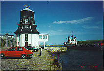 NJ9505 : The Round House at Fittie. by Colin Smith