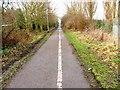 NZ4218 : Cycleway, Oxbridge Lane by Mick Garratt
