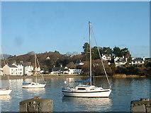 SH5637 : Borth y Gest Harbour by David Medcalf