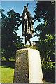 TQ6474 : Pocahontas Statue, Gravesend. by Colin Smith