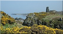 NS2515 : Dunure Castle by George Mahoney
