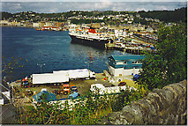 NM8529 : Oban Harbour. by Colin Smith