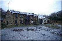 SD8431 : Old Boatyard, Finsley Gate, Burnley by Alexander P Kapp