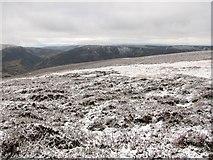 NN8131 : Northeast ridge of Auchnafree Hill by Callum Black