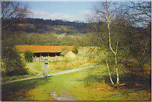 TQ1148 : Leasers Barn, near Abinger Hammer. by Colin Smith