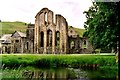 SJ2044 : Valle Crucis Abbey, Denbighshire, Wales by Robert Edwards