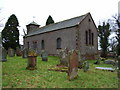 NY5455 : St Peter's, Castle Carrock by Andrew Smith