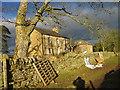 NY7876 : Crookbank Farmhouse by Les Hull