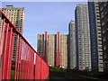 NS6167 : Red Road Tower Blocks, Balornock by Chris Upson