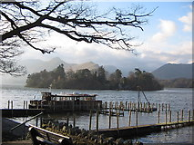 NY2622 : Derwent Water by Elle Charlton