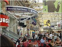TQ3179 : Waterloo Station by Tony Grant