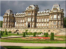 NZ0516 : Bowes Museum by rob bishop